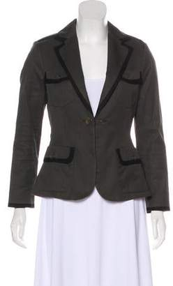 Rag & Bone Notch-Lapel Structured Blazer