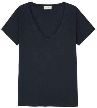 American Vintage Jacksonville Slubbed Cotton Blend T-shirt