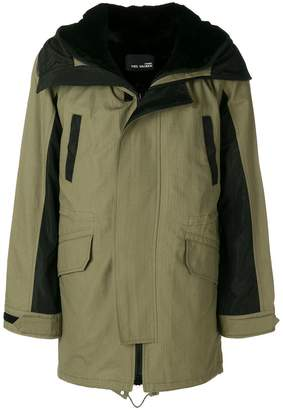 Yves Salomon long hooded parka