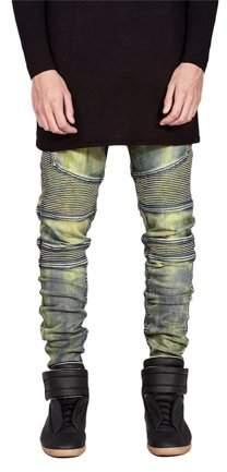 lifemakinggood Comfortable Denim Trousers Elastic Jeans Casual Slim Men Jeans Long Pants