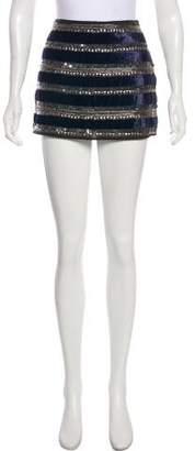 Gryphon Sequins Mini Skirt