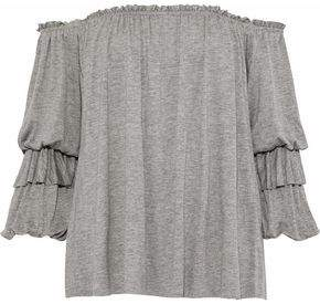 Bailey 44 Regalia Off-The-Shoulder Stretch-Jersey Blouse