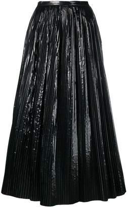Maison Margiela pleated skirt