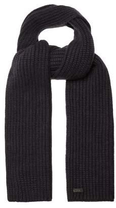 Iris von Arnim Colin ribbed-knit cashmere scarf