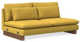 west elm XL Double Armless Sofa