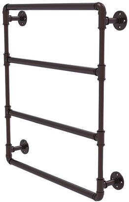 ALLIED BRASS Allied Brass Pipeline Collection 30 Inch Wall Mounted Ladder Towel Bar