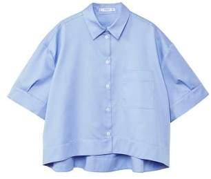 MANGO Oversize cotton shirt