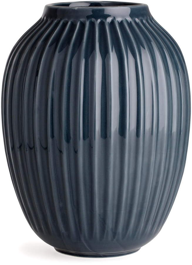 Kähler Design - Hammershøi Vase, H 25 cm / Anthrazit