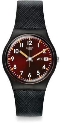 Swatch Sir Red Unisex Watch GB753