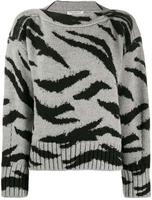 Philosophy di Lorenzo Serafini animal pattern wool sweater
