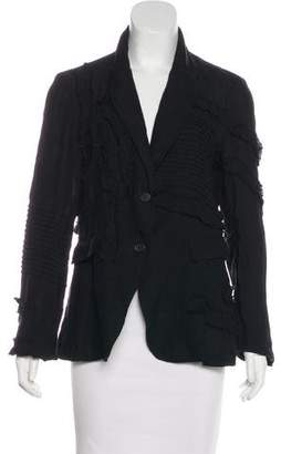 Ivan Grundahl Linen Appliqué Jacket