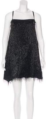 Emporio Armani Silk Embellished Dress