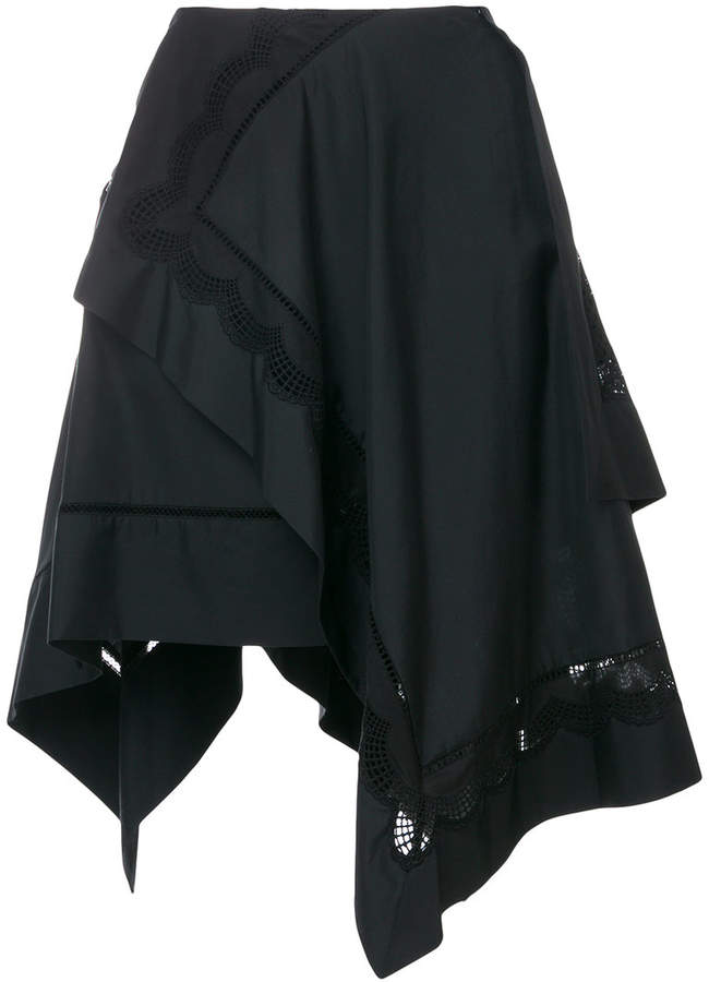 3.1 Phillip Lim flared asymmetric skirt