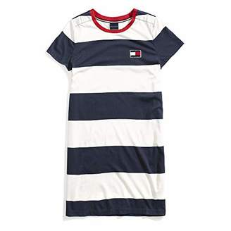 Tommy Hilfiger Adaptive Women's T Shirt Dress with Magnetic Buttons at Shoulders