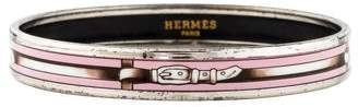 Hermes Narrow Enamel Bangle