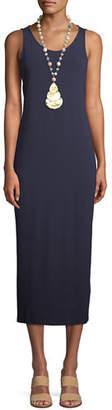 Eileen Fisher Jersey Scoop-Neck Midi Dress, Plus Size