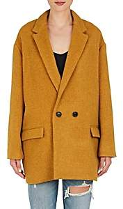Isabel Marant Women's Filey Wool-Blend Coat-Amber Gold