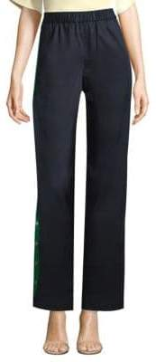 Tibi Pull-On Side Snap Pants