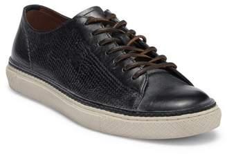 Frye Gates Perf Logo Leather Sneaker