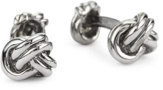 "Rotenier Novelty"" Sterling Silver Three Knot Cufflinks"