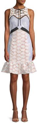 Endless Rose Penelia Contrast Sheath Dress