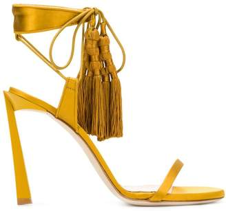Lanvin tasseled sandals