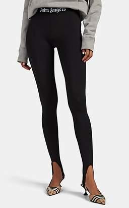 8e98fcede7c41 Palm Angels Women's Logo-Jacquard Stirrup Leggings - Black