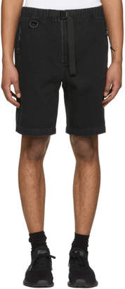 Alexander Wang Black Denim Shorts