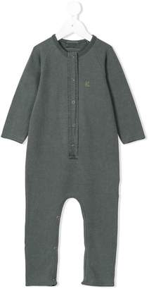 Bobo Choses fish embroidery jumpsuit