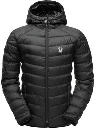 Spyder Geared Hooded Synthetic Down Jacket - Men's