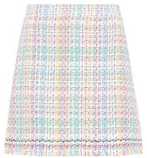 Thom Browne Cotton-blend tweed miniskirt
