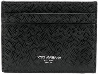 Dolce & Gabbana Sunshine Calf Credit Card Holder