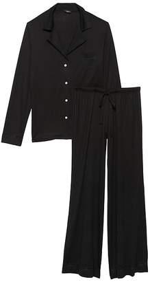 Banana Republic Cosabella | Bellita Solid Long-Sleeve Pajama Pant Set