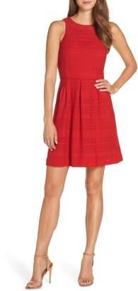 Trina Turk trina Keon Lace Fit & Flare Dress