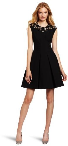 Tracy Reese Women's Frock Dress With Necklace