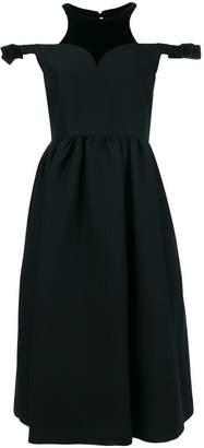 Fendi dropped shoulders midi dress