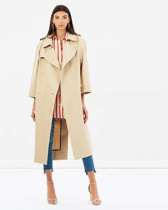 CHRISTOPHER ESBER Open Sleeve Trench