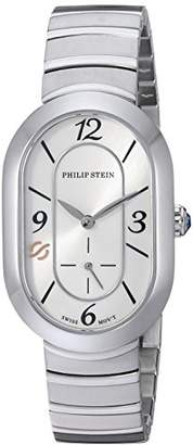 Philip Stein Teslar Women's 'Modern' Swiss Quartz Stainless Steel Casual Watch