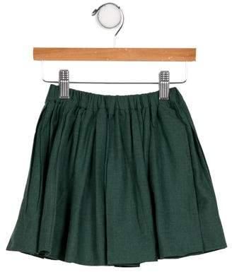 Tia Cibani Girls' Woven Pleated Skirt w/ Tags