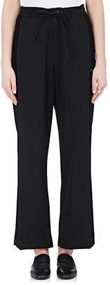 Yohji Yamamoto Regulation Women's Wool Wide-Leg Tuxedo Pants