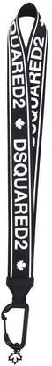 DSQUARED2 logo necklace keyring