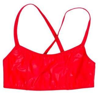 Lisa Marie Fernandez Scoop Neck Swimsuit Top w/ Tags