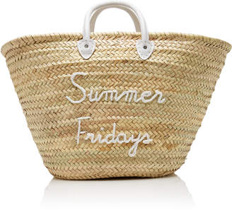 Poolside Summer Fridays Le Shortie Straw Tote