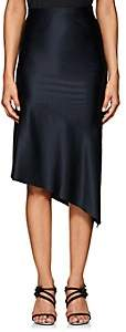 Narciso Rodriguez Women's Silk Charmeuse Evening Skirt - Navy
