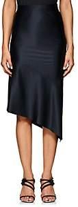 Narciso Rodriguez Women's Silk Charmeuse Evening Skirt-Navy
