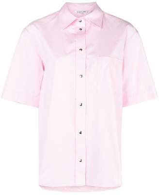 Helmut Lang short-sleeve fitted shirt