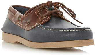 Dune MENS BOAT PARTY - Leather Boat Shoe