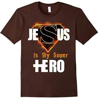 Cool Faith Based Jesus Is My Super Hero T-shirt