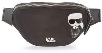 Karl Lagerfeld K/Ikonik Kuilted Bum Bag