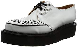 George Cox (ジョージ コックス) - [ジョージコックス] レースアップ D Ring Gibson Leather 3588 VI White Leather UK 8.5(27 cm)